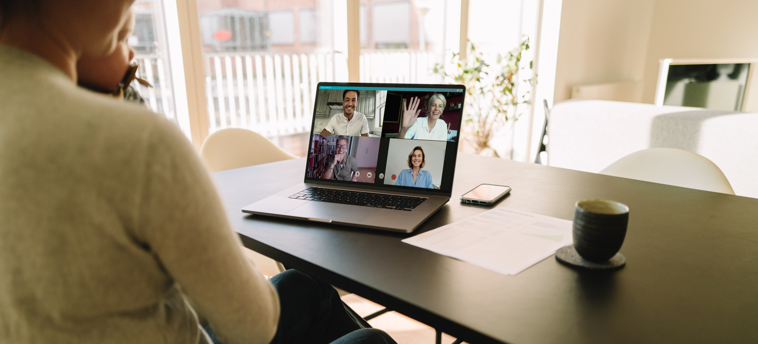 How to meet colleagues online