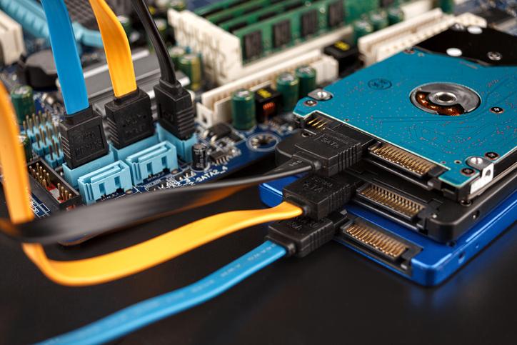 hard drives and ssd drives